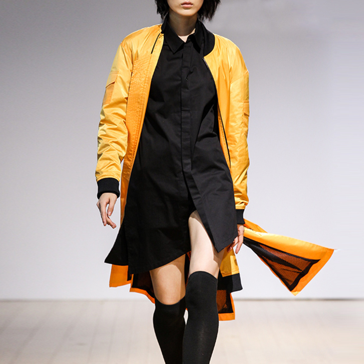 YELLOW MA-1 COAT