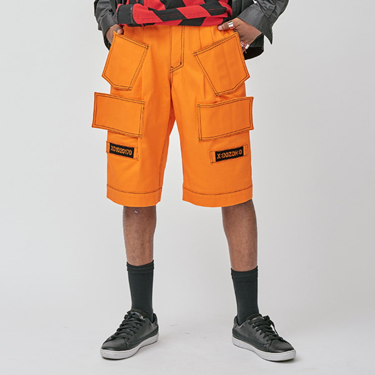 ORANGE PRISONER SHORTS
