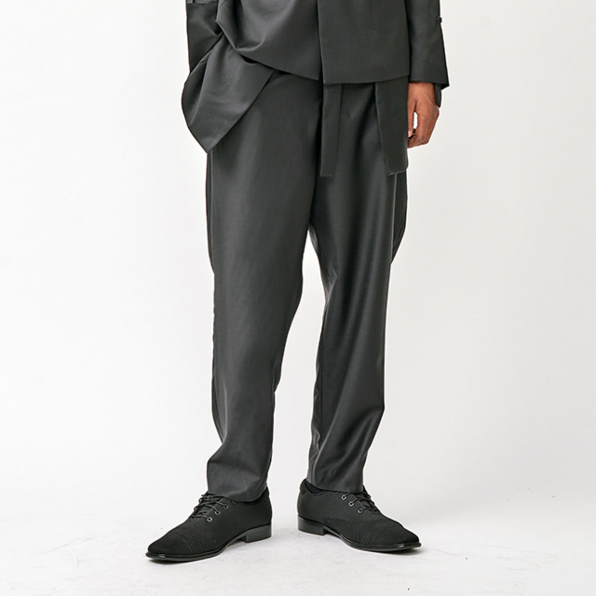BLAZER DETAILED WOOL TROUSER