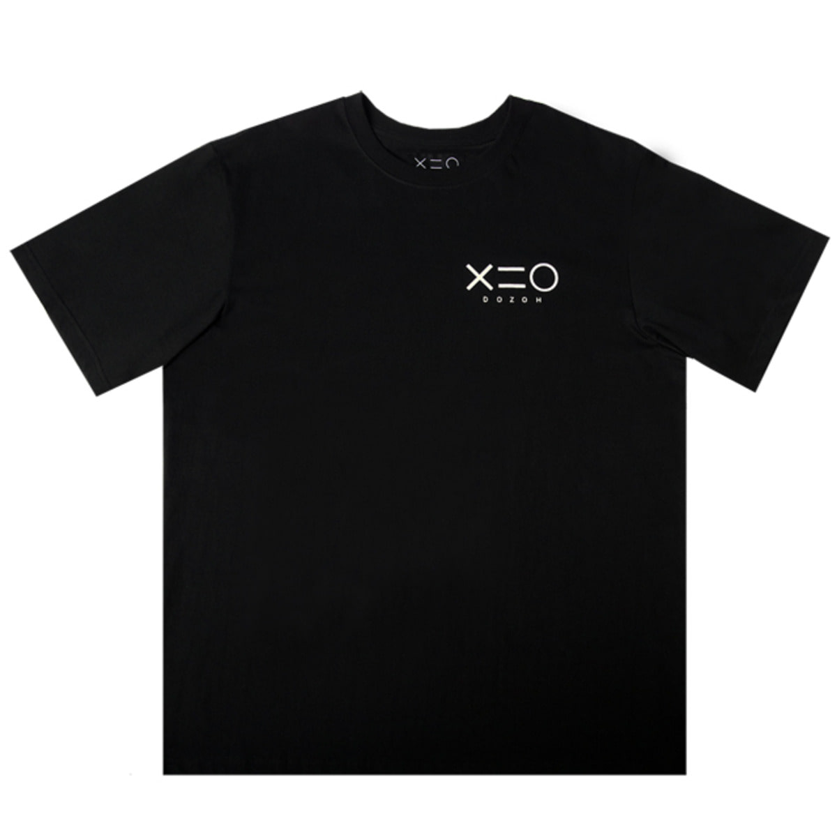 BLACK DOZOH LOGO T-SHIRTS