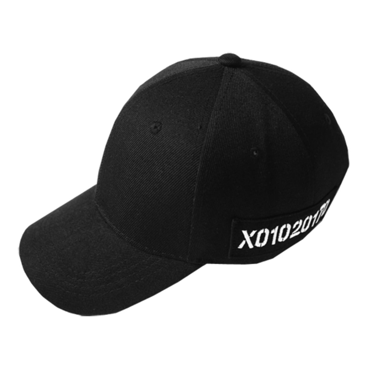 BLACK DOZOH PATCH CAP