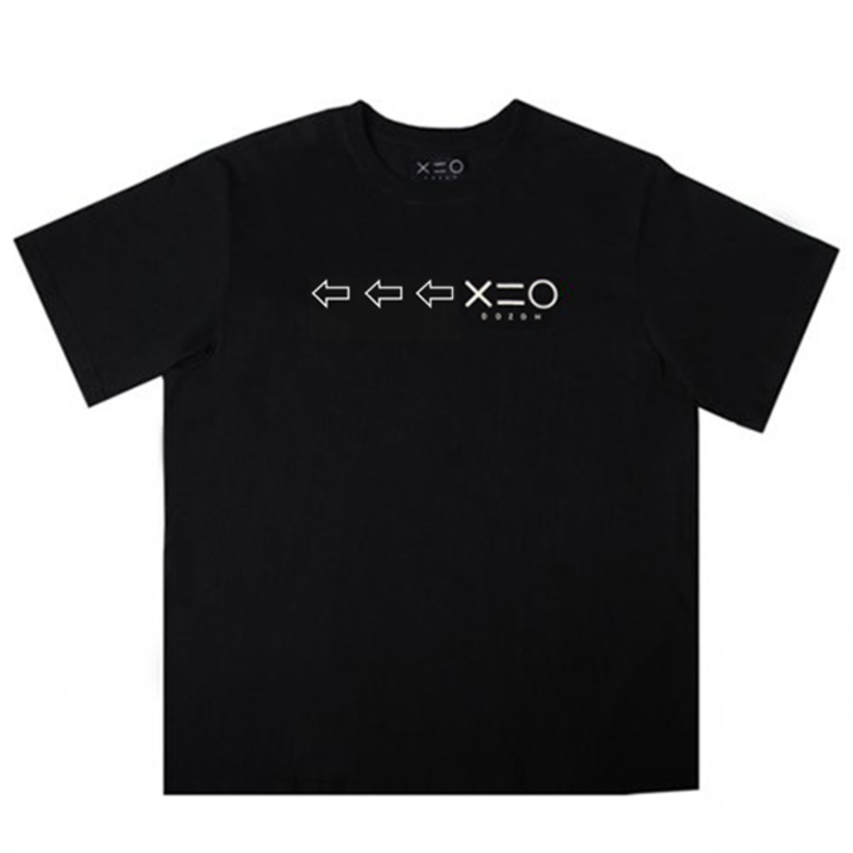 BLACK DOZOH WHITE ARROW&LOGO T-SHIRTS