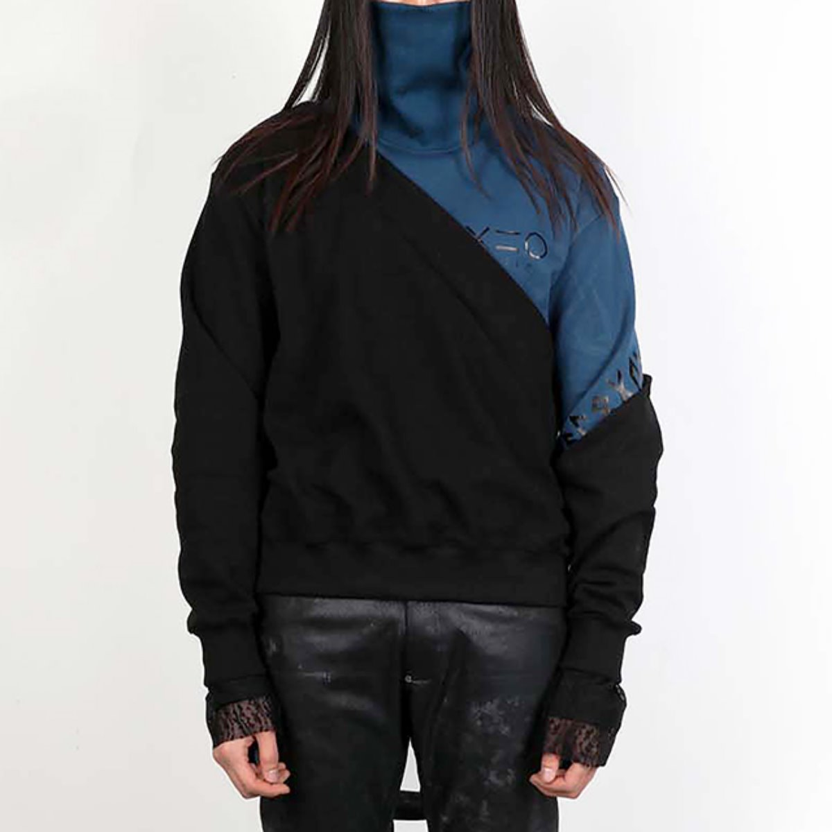 DIALOGUE TURTLENECK LAYERED SWEATSHIRTS (DZFW19_TP02)
