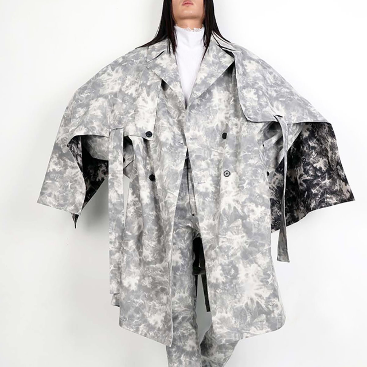 OVERSIZED CHAOS TRENCH COAT (DZFW19_OT_CT02)